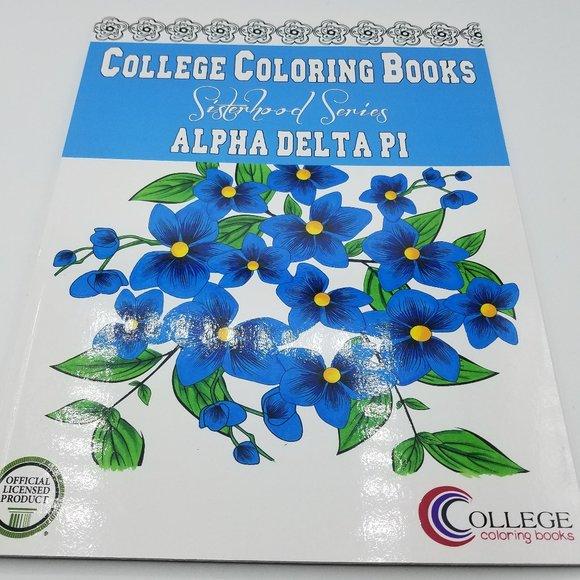 College Coloring Books SisterHood Series